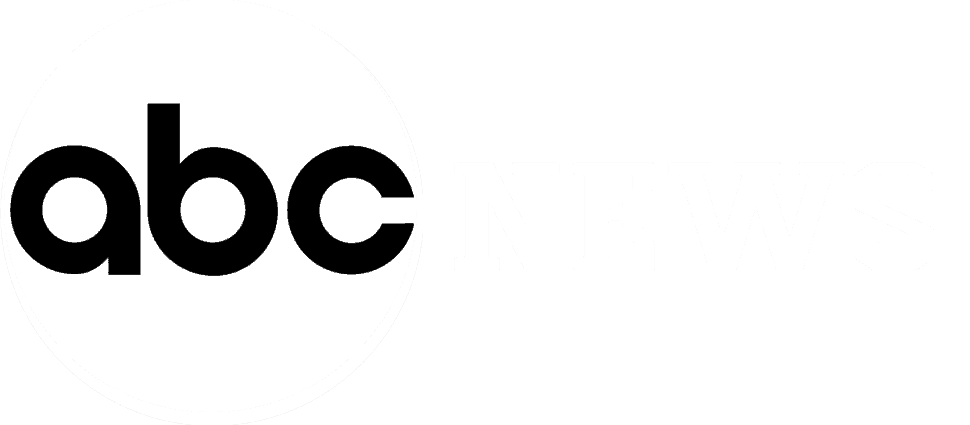 abc news logo that is white with transparency