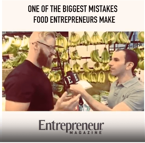 One Big Mistake : Interview on Entrepreneur Magazine